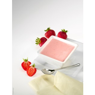 Red Berry Creamy dessert
