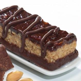 High protein chocolate & peanut flavour snack bar