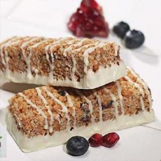 Cranberry / pomegranate flavour snack bar