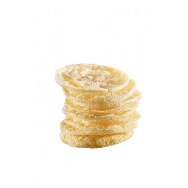 Chips soufflés arôme fromage et oigon.