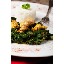 Ready-cooked Chicken and Spinach