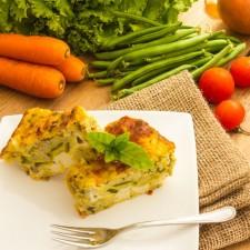 Vegetable flan