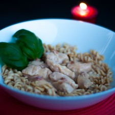 Chicken and Bacon fusilli