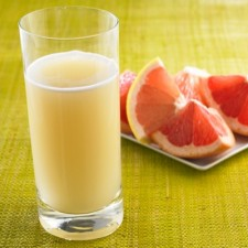 Refreshing grapefruit Booster drink