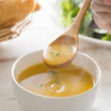 Soupe légumes du potager sans gluten